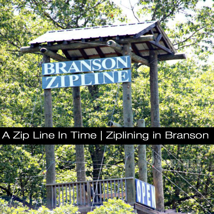 Ziplining in Branson