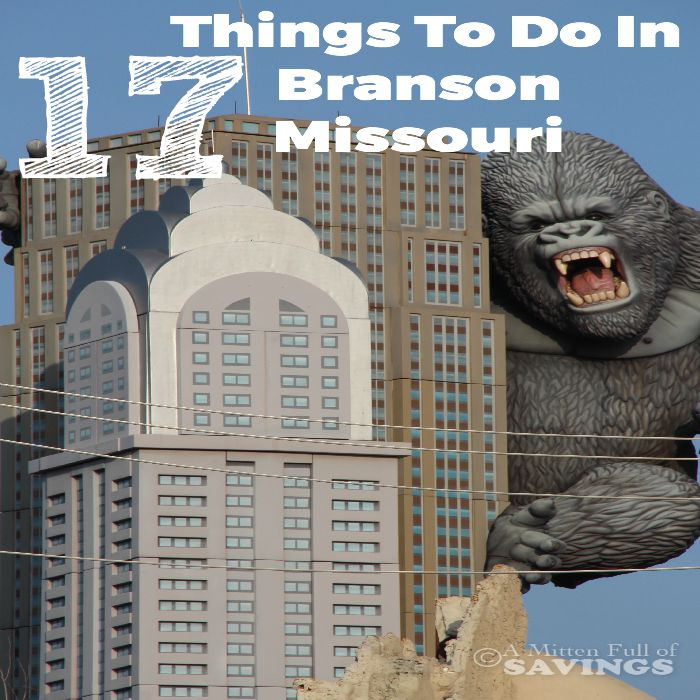 Planning a family trip to Branson, Missouri? There's so much to do in Branson, check out 17 Things To Do In Branson Missouri