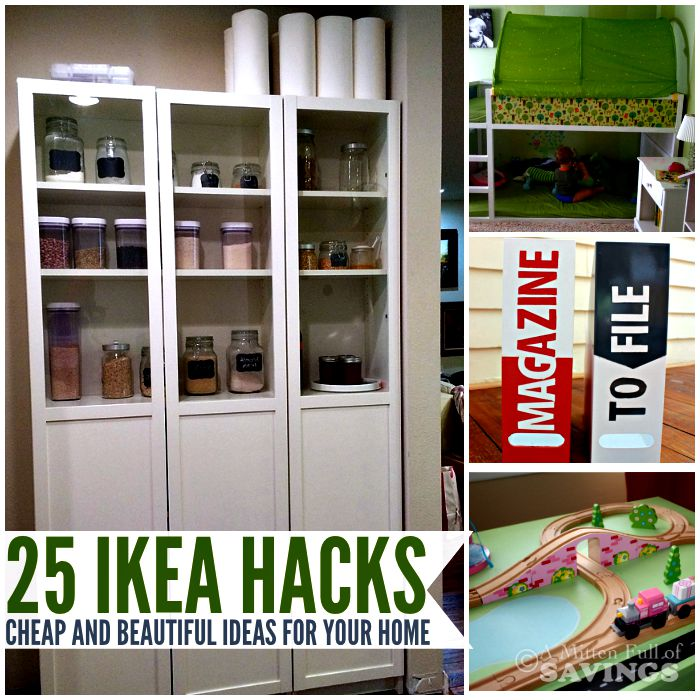 25 Ikea Hacks