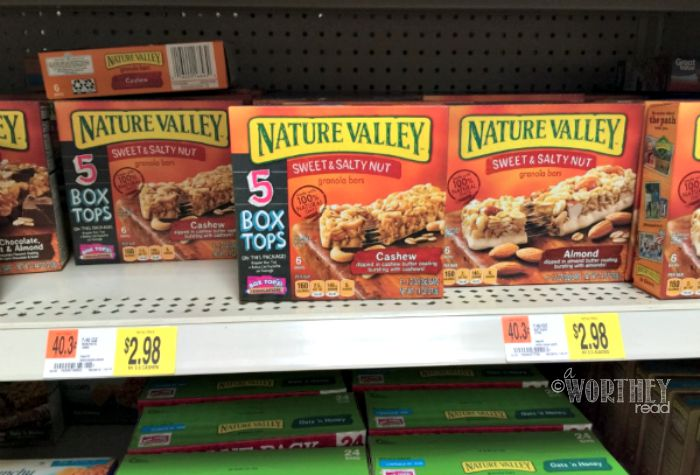 Box Tops Nature Valley