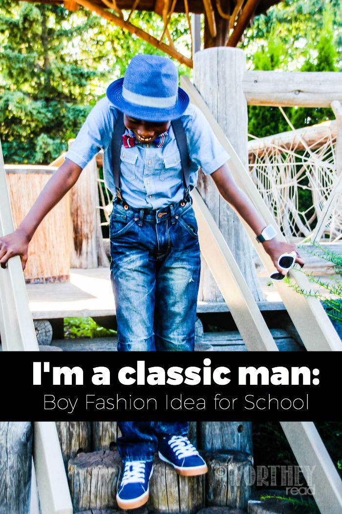 Boy Fashion Idea for school
