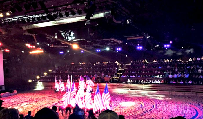 Dixie Stampede Show Fun For All