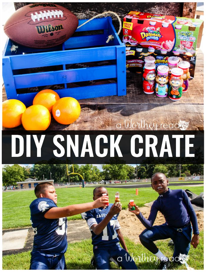 DIY Snack Crate