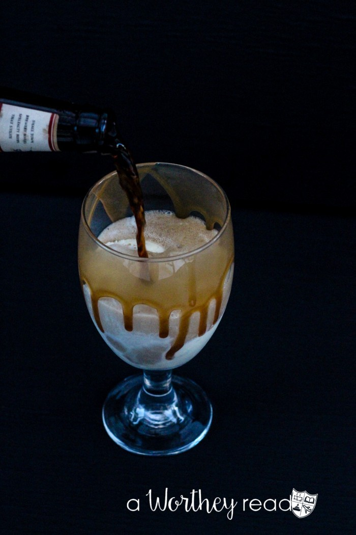 Not your father s root beer chunky float