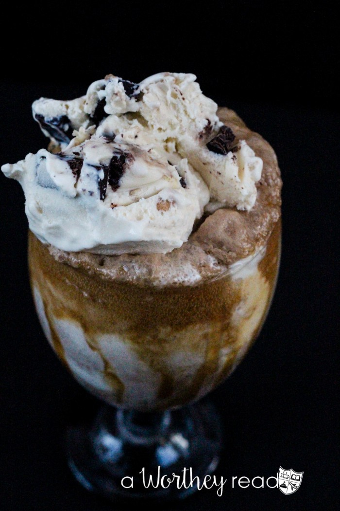 Not Your Father's Root Beer Chunky Float