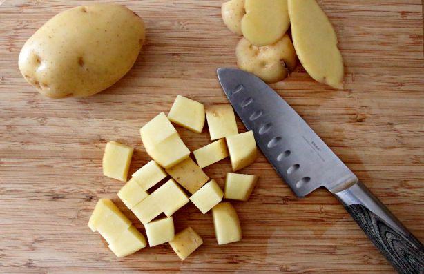 Sweet Potato & Yukon Gold Soup 3