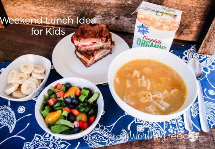 Weekend Lunch Idea for Kids