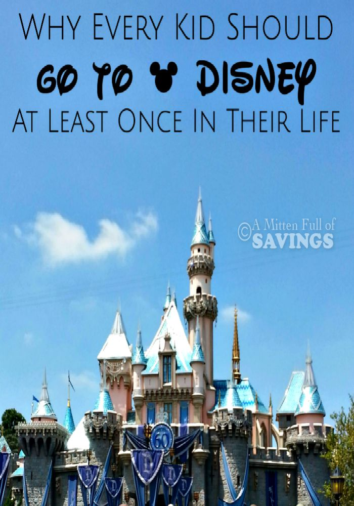 Why Every Kid Should Go To Disney At Least Once In Their Life!