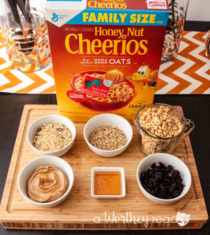 Cheerios Peanut Granola Clusters -5