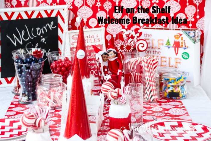 Elf on the Shelf Welcome Breakfast