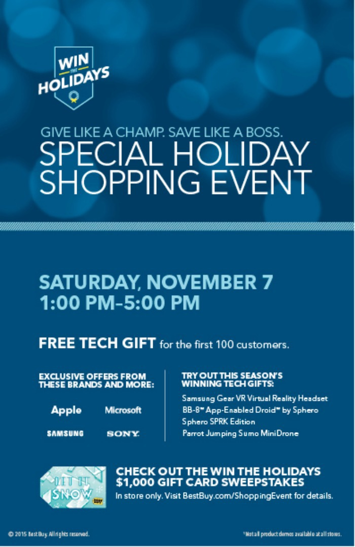 Best Buy Holiday Event