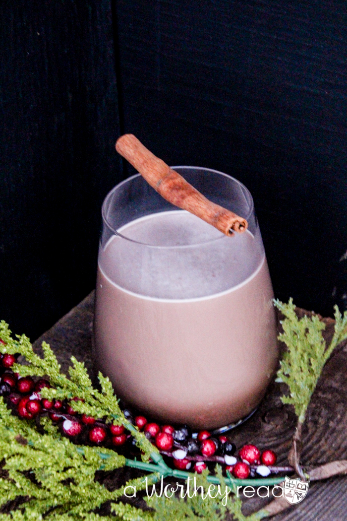 The perfect drink on a winter's day- Hot Chocolate Whiskey