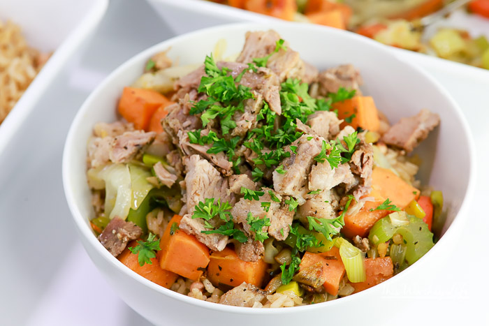 I've made roast over the years, but making a pork roast in the Instant Pot is a game changer. As we get ready for the New Year, I'm sharing our lucky New Year's Day recipe. It's pork, black-eyed peas, and fresh veggies all made in the Instant Pot. I've also added a new way to make a brown rice with black-eyed peas.
