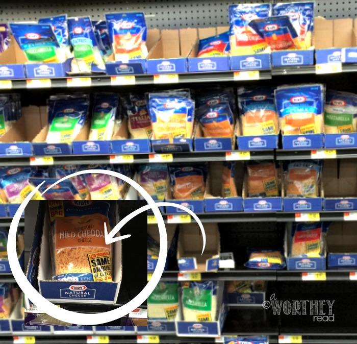 Kraft Natural Cheese at Walmart