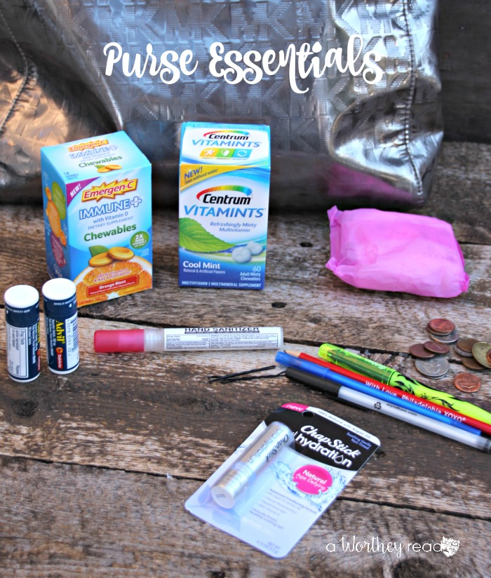 Eight Essentials To Keep In Your Purse