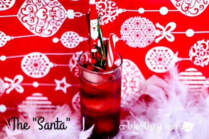 Easy Christmas Cocktail - The SANTA