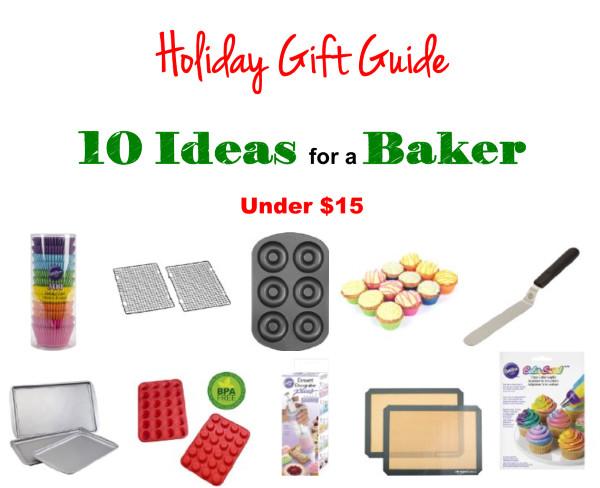 Gift Ideas for a baker