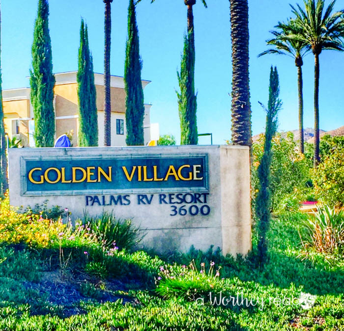 Golden Palms RV Resort In Hemet