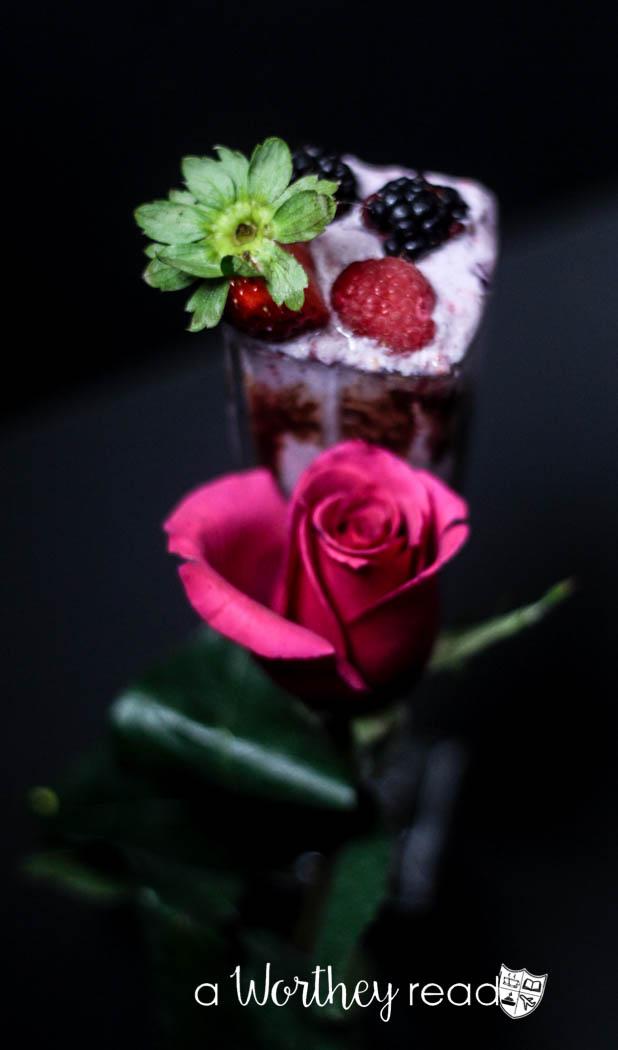 Ménage à Trois Berry Cocktail Shake