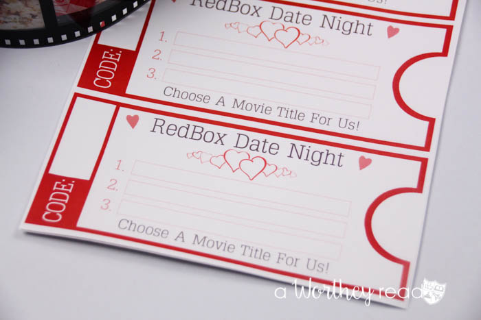 Date Night Movie Gift Basket Idea