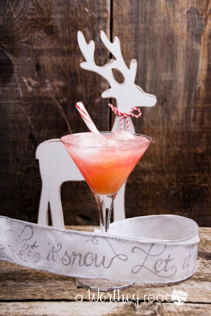 The Pink Prancer {Non-Alcoholic Cocktail}