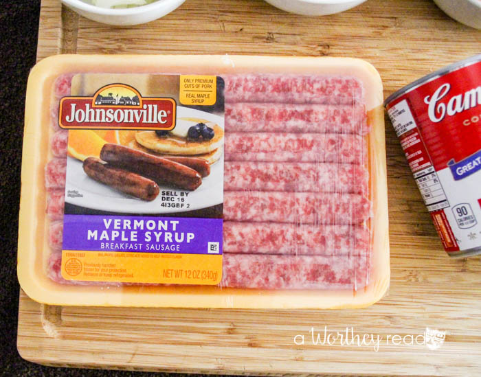 Easy Holiday Breakfast Casserole: Sausage Breakfast Casserole {& Le Creuset Giveaway}