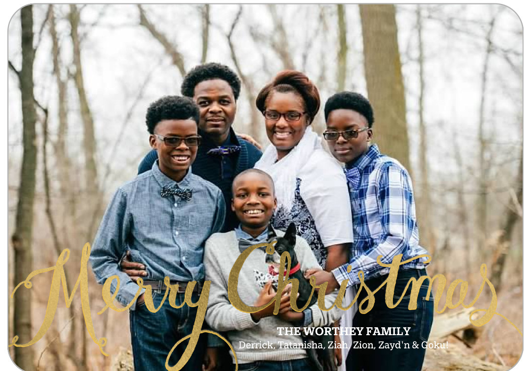 Merry Christmas from the Wortheys