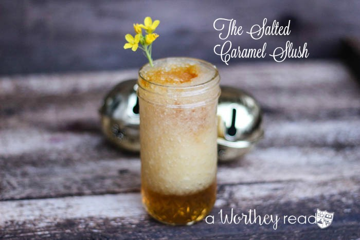 Salted Caramel with a twist-The Salted Caramel Slush