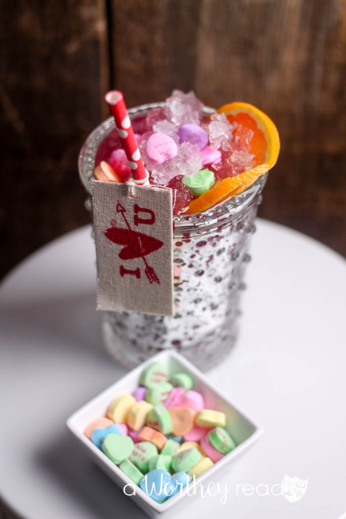 Kid-friendly Valentine's Drink - Be Mine Mocktail Recipe