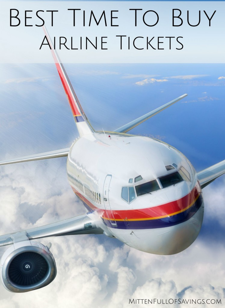 Best Time To Buy Airline Tickets