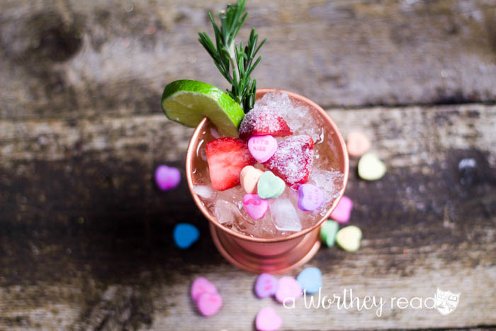 Be Mine Valentine's Moscow Mule