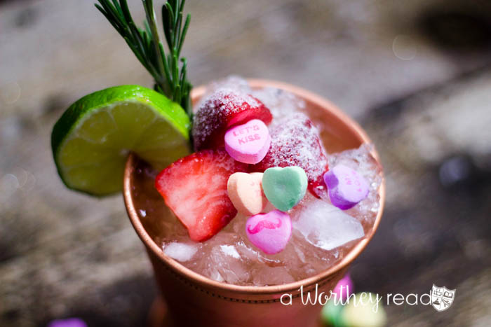 Here's an easy Valentine's cocktail recipe to try for your sweetheart, or you! The Be Mine Valentine's Moscow Mule is the perfect companion for February 14th!