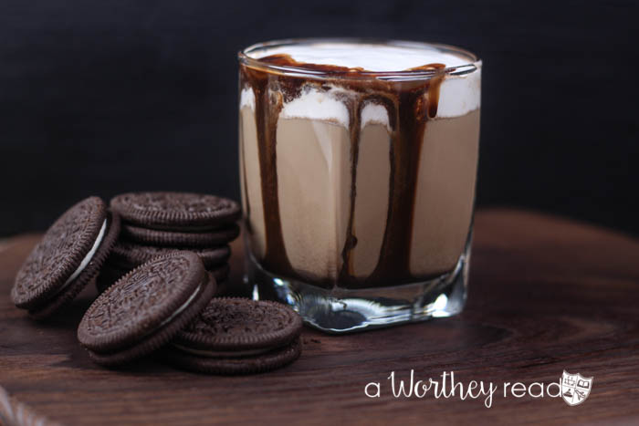 Miss drinking chocolate milk? Well, this cocktail is just for the adults! Grab your cookies and sit back and sip on a Grown Up Chocolate Milk