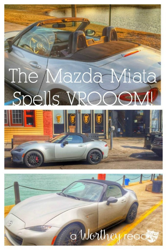 Learn all about the Mazda Miata and how it handles in winter weather. Me, Myself & the Mazda Miata {Winter Experience}