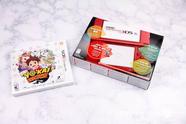 Nintendo Yo-kai Watch DS Game-1