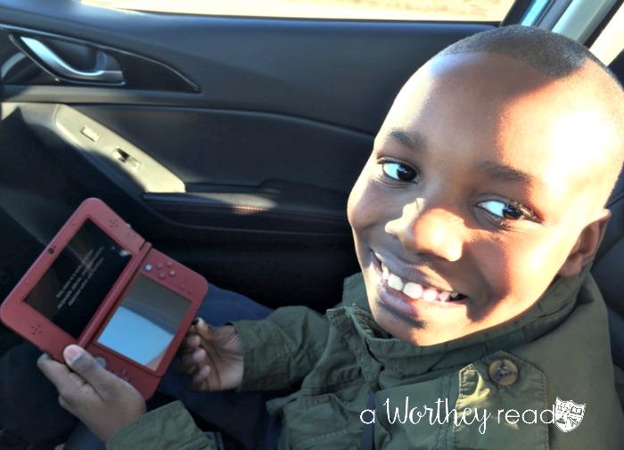 Zayd'n playing Yokai Watch3