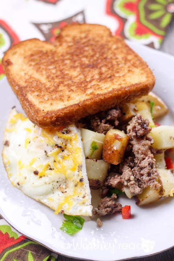 Beef Breakfast Skillet Casserole-14