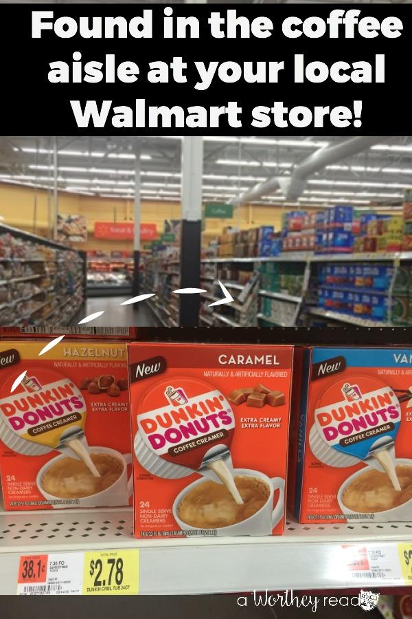 Dunkin Donut at Walmart