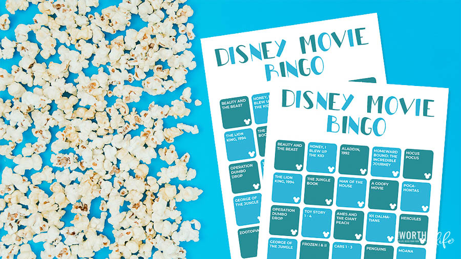Disney Movie Bingo