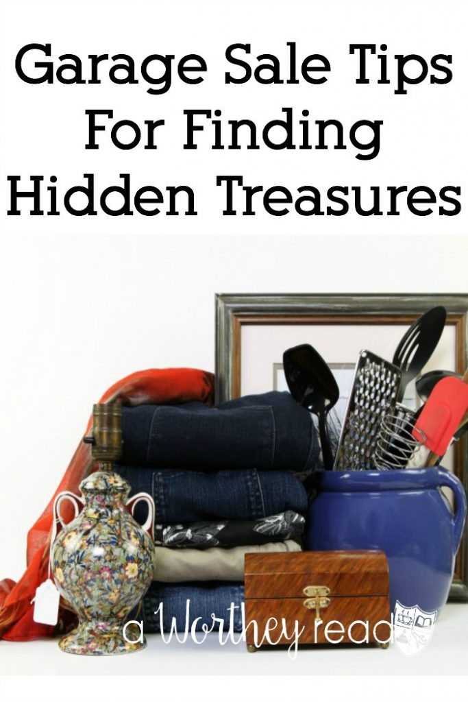 It's Garage Sale season. Before you head out to your weekend garage saling, be sure you read the best garage sale tips on how to find the hidden treasures. Garage Sale Tips For Finding Hidden Treasures