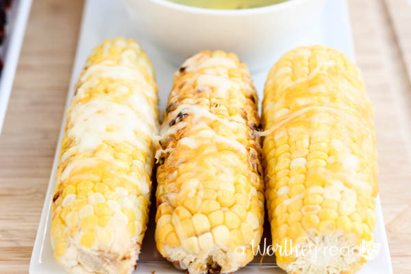 Corn on the Cob with Cheese