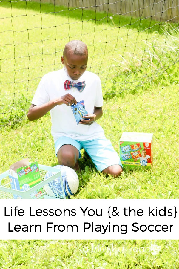 Are you a Soccer Mom? Do your kids love playing sports? It's not just about the love of the game, but the lessons that come along with it. Life Lessons You {& the kids} Learn From Playing Soccer