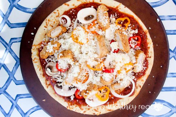 Teenage Muntant Turtle Inspired Cowabunga Chicken Pizza-11