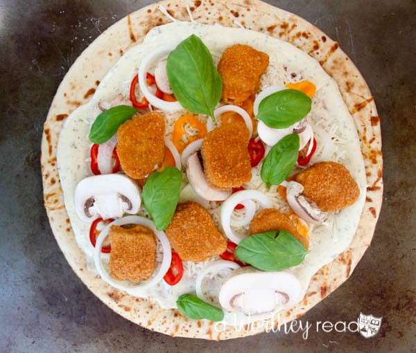 Teenage Muntant Turtle Inspired Cowabunga Chicken Pizza-15