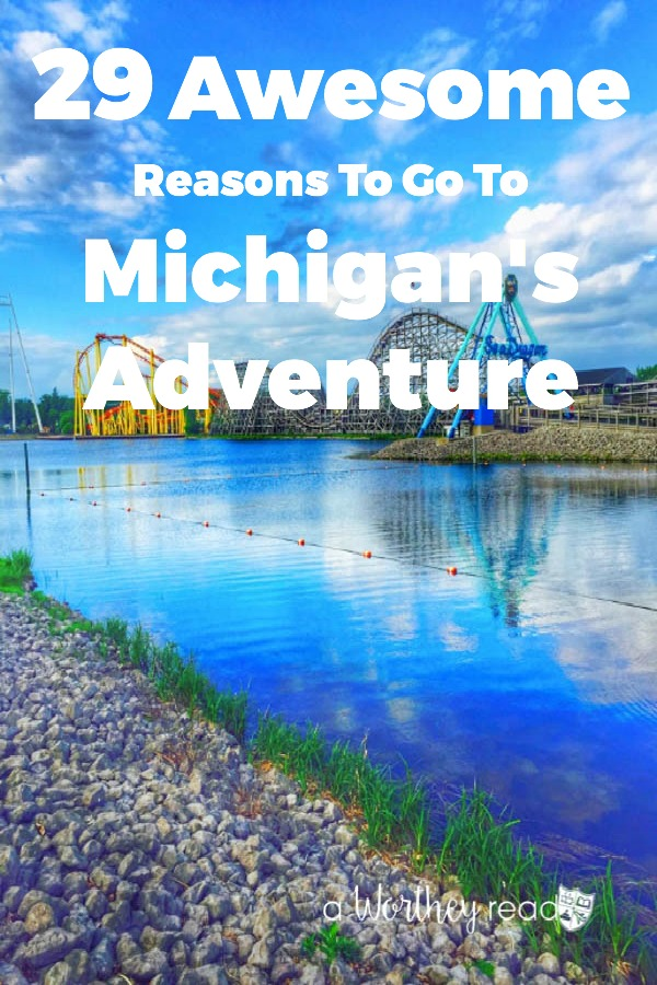 Looking for things to do in Michigan? Plan a road trip up to Michigan's Adventure- (best waterpark in Michigan) 29 Awesome Reasons To Go To Michigan's Adventure {& waterpark}