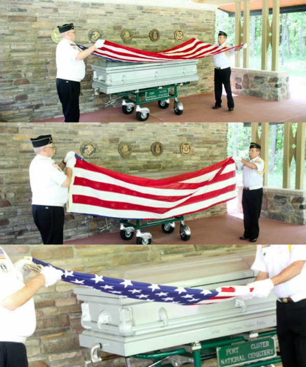 Dad's Last Salute