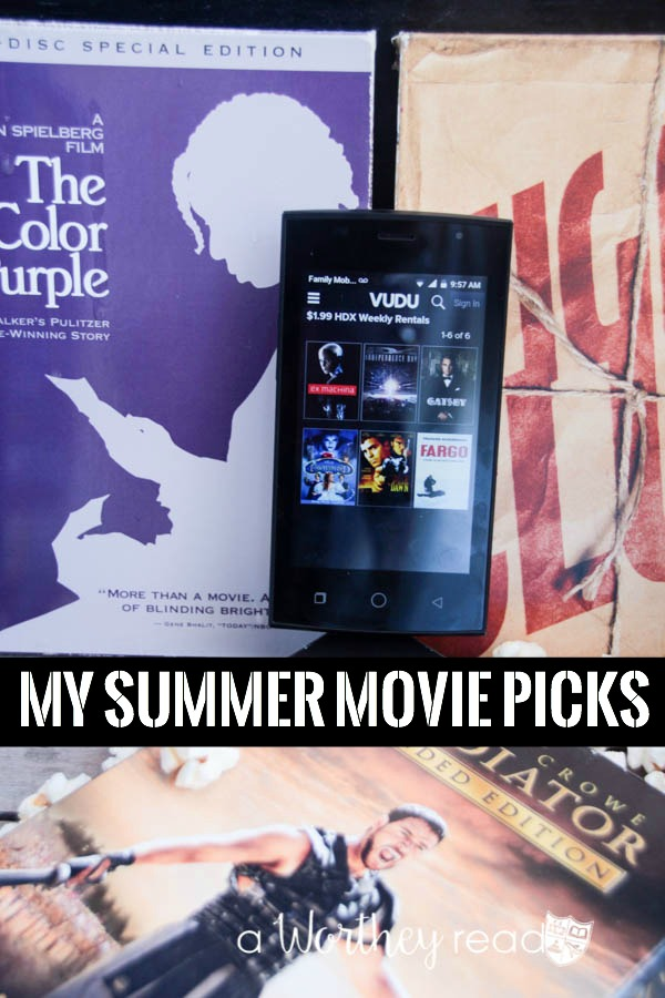 Summer is here! Here's a few frugal ways to stay entertained this summer with my summer movie picks!