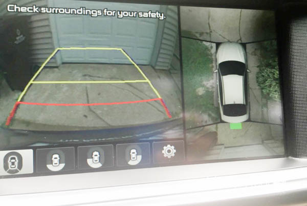 Safety features in 2016 Kia Optima
