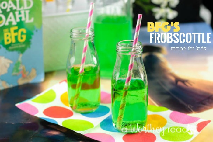 What is Frobscottle, and how do you make it? Easy Frobscottle recipe from Disney's BFG movie