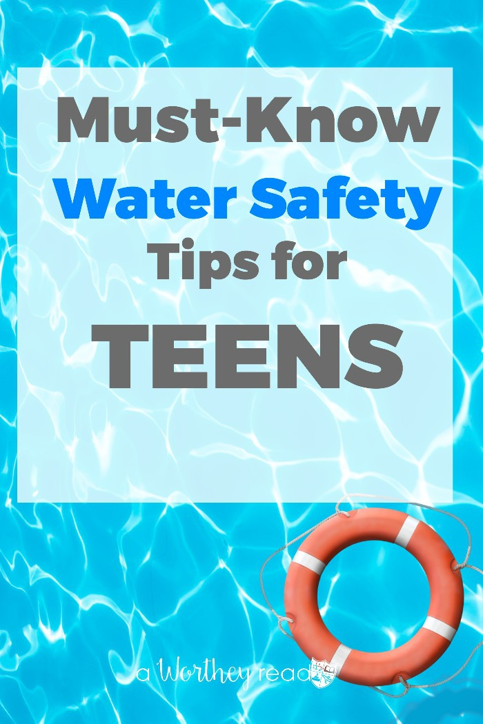 Moms! It's important that your older children and teens know about the water safety rules! Kids love to go to the lake, pool and swim parties. Make sure your kids are educated on important water safety tips specificially for teens. Click through to read this post!
